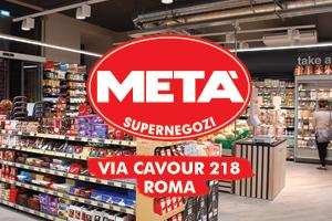 Supermercati Metà Via Cavour 218