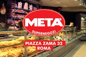 Supermercati Metà piazza Zama 32