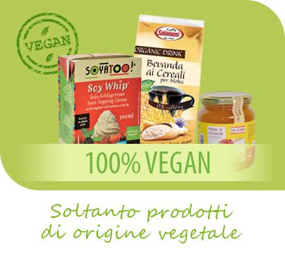 Supermercato Metà, alimenti per vagani