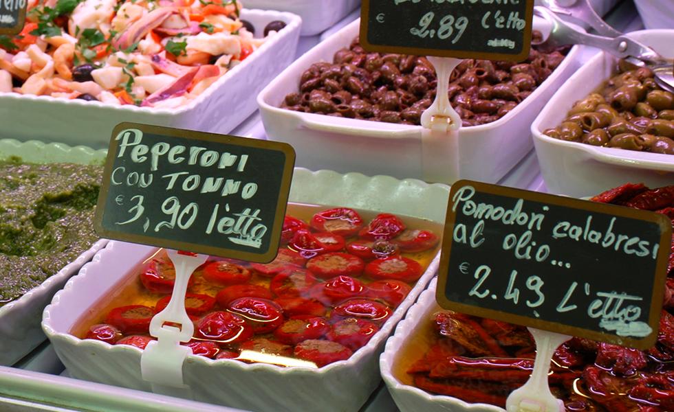 Supermercato Pam, banco gastronomia