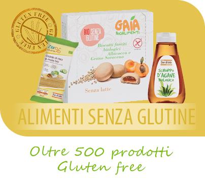 Supermercato Metà, alimenti senza glutine