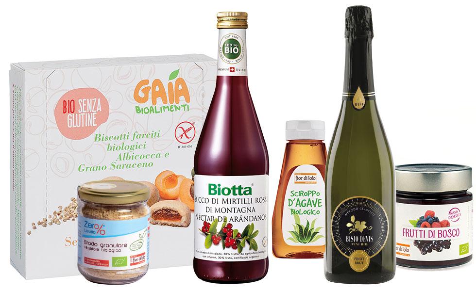 Supermercato Metà, con prodotti bio, vegan e gluten free