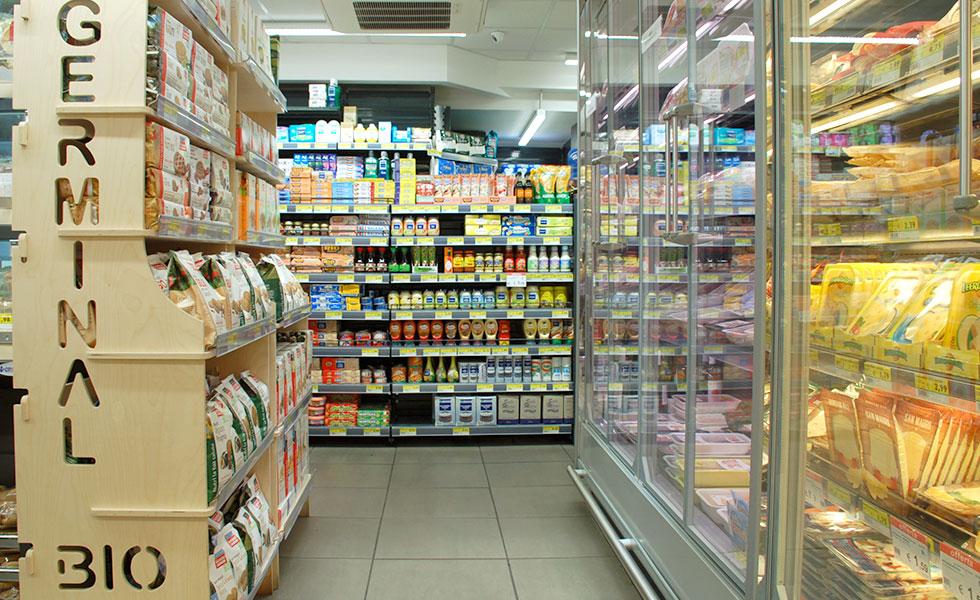 Supermercato Meta, grande distribuzione alimentare