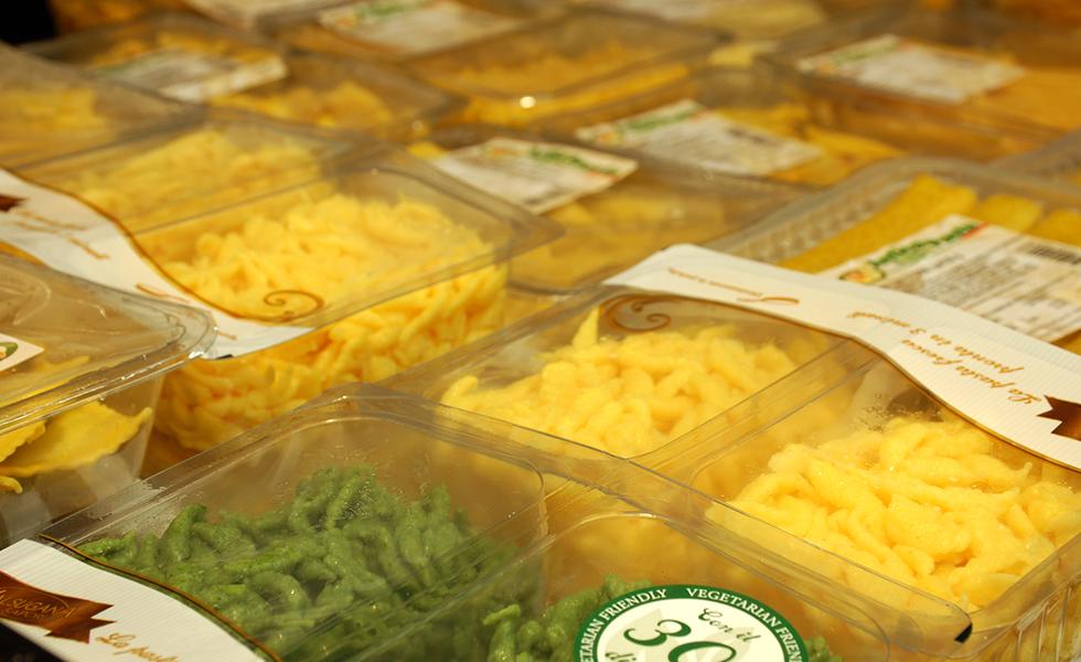 Supermercato Metà, pasta fresca all'uovo