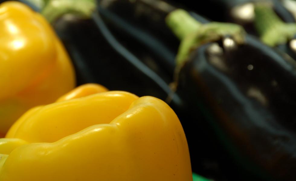 Supermercato Metà, verdura fresca di stagione