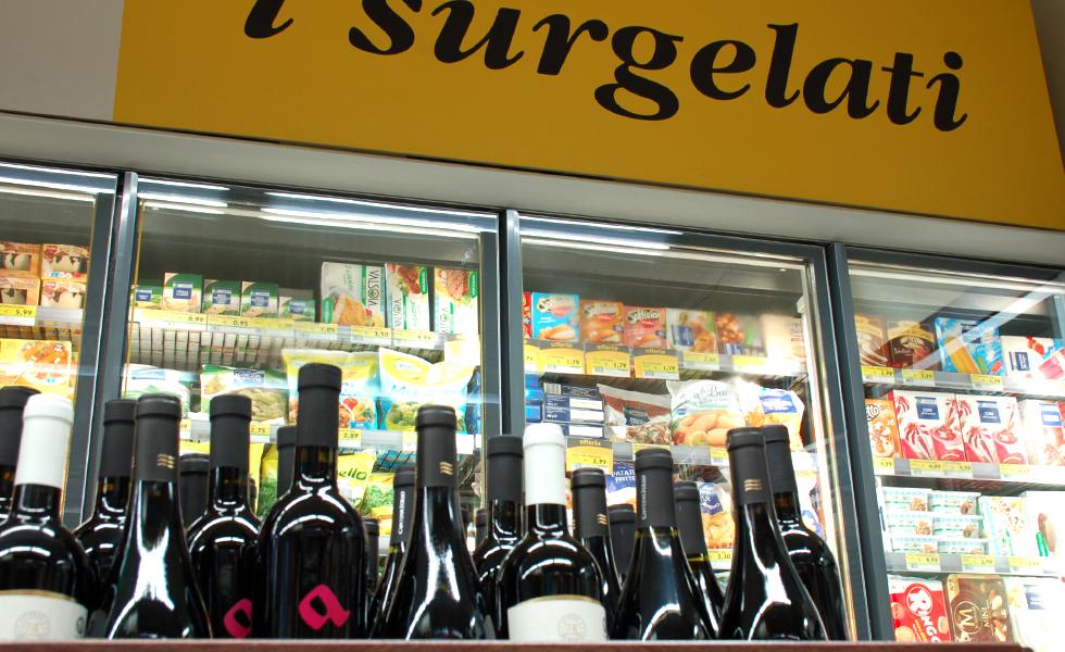 Supermercato Pam, verdura fresca di stagione
