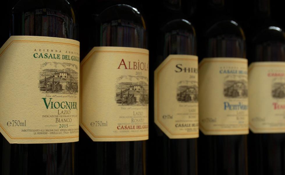 Supermercato Pam, selezione di vini e distillati