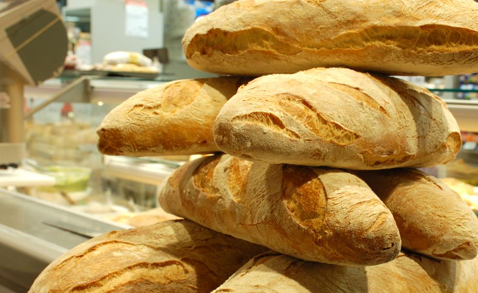 Supermercato Metà, reparto panetteria