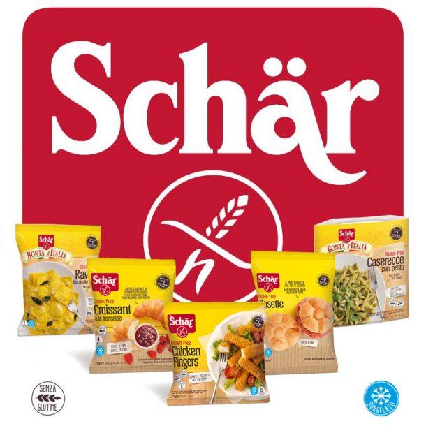Scopri la nuova linea Schar, i surgelati senza glutine