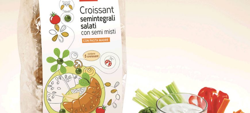 Croissant semintegrali salati