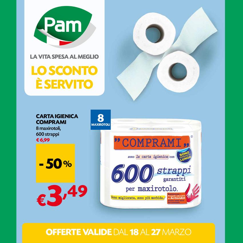Supermercato Pam, Offerte Speciali