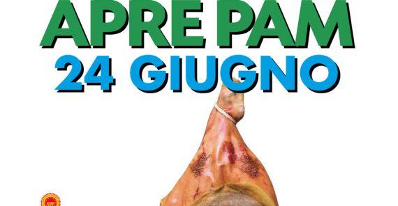 24 Giugno 2021 – Nuova apertura Supermercato PAM in via Carlo Conti Rossini 46