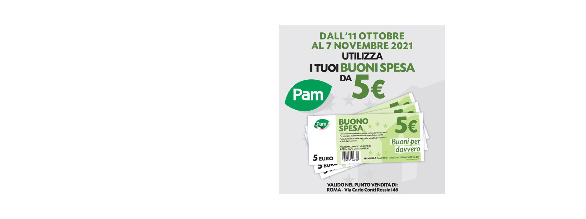 Pam via Carlo Conti Rossini 46
